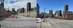 Before /After : Bonaventure autoroute 3 (Vanishing Montréal) Tags: history villedemontreal montreal histoire photography art architecture demolition disappearinghistory newconstruction