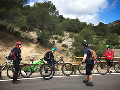 Warm up Trails (Gee & Kay Webb) Tags: mtb mountainbike trails trees andaluz adventure bike bicycle cycling forest riding iphone saddleskedaddle spain
