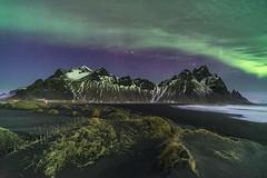 'Stellar Stokksnes' - Iceland (Kristofer Williams) Tags: night sky stars nightscape beach iceland sanddunes landscape mountains vestrahorn aurora northernlights auroraborealis