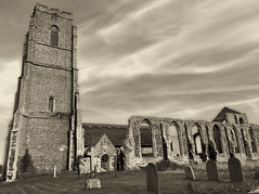 Church of St Andrew Covehithe (weeviesdrone) Tags: church st andrew covehithe
