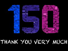 Thank you very much! (sponki25) Tags: anniversary 150 follower thank you