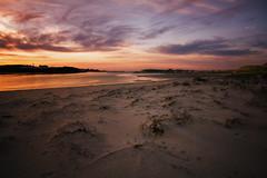 L'entrée de l'Anse (Francois Le Rumeur) Tags: brittany sunset seascape landscape paysage finistère bretagne france bord de mer plage beach dune herbe grass sand sable nikon d7100 16mm hd 4k coucher soleil ciel sky cloud pink