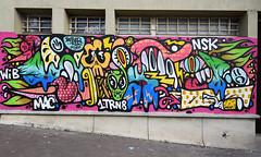 Bebar (HBA_JIJO) Tags: streetart urban graffiti vitry vitrysurseine art france artist hbajijo wall mur painting skull peinture murale mac paris94 spray bebar nsk urbain bebarbarie