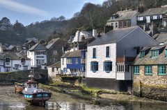 The inner harbour, Polperro, Cornwall (Explored) (Baz Richardson (trying to catch up again!)) Tags: cornwall polperro villages cornishharbours fishingboats oldhouses explored