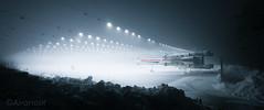 Illuminated Vol.2 (Avanaut) Tags: surreal starwars xwingfighter scalemodel miniature studioscale snow fog mist toy toyphotography originality avanaut winter ice droid astromech r5d4 helsinki