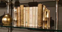 - Out Of Africa - (Jac Hardyy) Tags: out africa bookshelf isak dinfsen shelves shelf modern style bamboo gold glass book books buchregal regal buch bücher bücherregal glas birne goldene stil moderner bambus