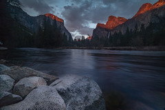 Red Rings (sierra_bum) Tags: flickr canon hoya yosemite rivers sunset nationalparks light landscapes longexposure landscapephotography california greatphotographers