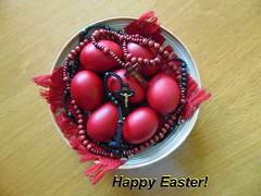 Happy Easter! (băseşteanu) Tags: ouarosii paste pasti easter eggs redeggs traditiipascale traditions maramures romania