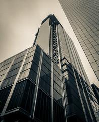 IMG_6495 (kz1000ps) Tags: newyorkcity nyc manhattan architecture urbanism cityscape downtown worldtradecenter tower3 towerthree 175greenwich glass office tower construction splittone