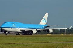 """City of Karachi"" KLM Royal Dutch Airlines PH-BFK Boeing 747-406M cn/25087-854 @ Polderbaan EHAM / AMS 07-06-2016 (Nabil Molinari Photography) Tags: cityofkarachi klm royal dutch airlines phbfk boeing 747406m cn25087854 polderbaan eham ams 07062016"