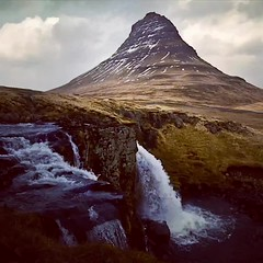 Iceland - Kirkjufell Timelapse (Dave Noyle) Tags: video clouds lapse time timelapse waterfall mountain snaefellsness kirkjufell 2014 iceland