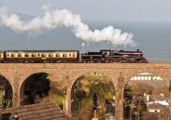 75014 at Broadsands (Glen Batten) Tags: 75014 steam pdr