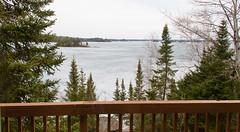 Out the window (Big Dadoo) Tags: lakeofthewoods lake