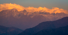 Layers (UnproPhotography) Tags: andes landscapephotography chile mountains clouds snow santiago sunset