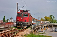 """TARA"" IC 431 Belgrade- Bar (Mladja_IC431) Tags: tara ic431 431 trainspotting valjevo bridge trains 441 asea canon train belgrade bar"
