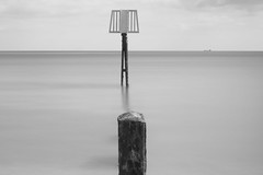 Groyne 2 (thechymist) Tags: infrared felixstowe groyne sea