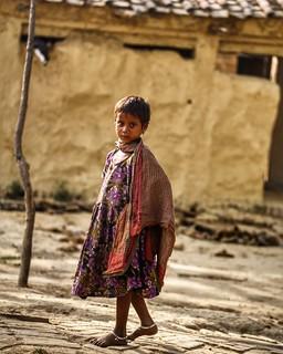 Little wanderer ~ India