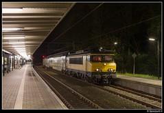 NSR 1740 + 7315 - 5581 (Spoorpunt.nl) Tags: 16 april 2017 ns reizigers nsr 1740 ddar stam 7315 station baarn avond nacht 5581