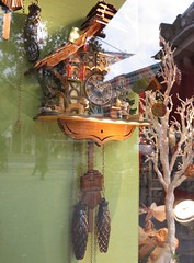 german cuckoo clock (squeezemonkey) Tags: dog berlin shop wooden display german cuckooclock kthewohlfahrt