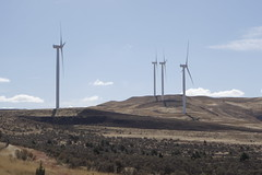 030 Wind Turbines Along Oregon's Highway 19. (scottwwwwwww) Tags: steensmountains alvordhotsprings
