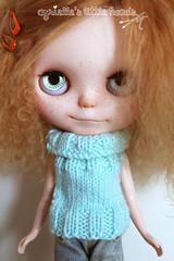 Turquoise Sweater...