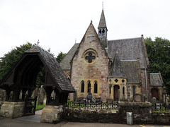 Old church and graveyard in Luss (dcharbach) Tags: scotland luss