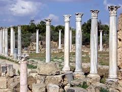 Salamis Cyprus 019 (saxonfenken) Tags: ancient ruins columns cyprus greekruins salamis 6887 gamesweep herowinner 6887misc