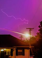 lightningbehind (a-md) Tags: sky silhouette dark purple magenta lightning purplesky