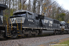 NS 6954 EMD SD60E (Trucks, Buses, & Trains by granitefan713) Tags: train ns trains locomotive freighttrain norfolksouthern emd emdsd60 sd60e