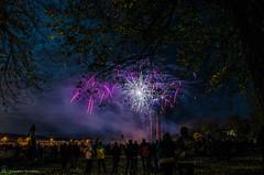 Kemnay Fireworks (Piskey Mitch Photography) Tags: nikon aberdeenshire fireworks guyfawkes bonfirenight 2014 kemnay d5100 piskeymitch