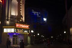 Hyperion presenta... (Carlos Coln Rodrguez) Tags: travel halloween night america lights la losangeles simpsons disney mickey pop eua hiphop draw universalstudios popla