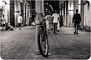 DSC_0854-2 (obetsis) Tags: street white black bicycle photography nikon perspective iso 350 and mm f18 1000 160 ƒ40 d5100