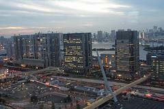 View from the Giant Sky Wheel 05 (Umberto Luparelli) Tags: tokyo odaiba daiba pedestrianbridge fujitv