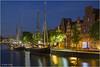 Lübeck - 11071406 (Klaus Kehrls) Tags: nacht lübeck schiffe schleswigholstein nachtaufnahme hansestadt trave segelschiffe flüsse kanäle leete