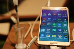 Samsung Galaxy Note 4 - Frankfurt Buchmesse 2014