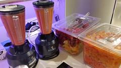 """#HummerCatering #Eventcatering #Adidas #Boostyourrun #Smoothie #Aktion. Frisch zubereitete Smoothies von unserer Smoothiebar im Dodenhof in Posthausen.  Smoothies 1: Karotte mit Mandarinen, Banane und Joghurt  Smoothie 2: tropische Früchte mit Erdbeeren, • <a style=""""font-size:0.8em;"""" href=""""http://www.flickr.com/photos/69233503@N08/15315899237/"""" target=""""_blank"""">View on Flickr</a>"""