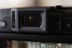 EVF & Diopter adjustment control FUJIFILM X30 15 (HAMACHI!) Tags: camera black japan tokyo body fujifilm digitalcamera x30 2014 xseries fujifilmx diopteradjustmentcontrol fujiflmx30