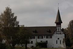 Probstei Wagenhausen ( Ehemaliges Benediktinerpriorat - Kloster - convent - Hochzeitskirche - Kirche - Church - Eglise - Chiesa - Urprung romanisch  11. Jahrhundert - 1085 ) am R.hein im Dorf Wagenhausen im Kanton Thurgau der Schweiz (chrchr_75) Tags: chriguhurnibluemailch christoph hurni schweiz suisse switzerland svizzera suissa swiss chrchr chrchr75 chrigu chriguhurni 1410 oktober 2014 oktober2014 hurni141012 rhein rhin reno rijn rhenus rhine rin strom europa albumrhein fluss river joki rivire fiume  rivier rzeka rio flod ro