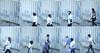 Passing ships (Giorgio Verdiani) Tags: people woman men fence turkey donna gente sony türkiye courtyard istanbul sequence turkish 8mp h9 uomini turchia kadıköy cantiere sfocata scattirubati staccionata sequenza recinzione stolenshots seaofmarmara northernshore bridgecamera chalcedon dsch9 mardimarmara tenshots rivanord dieciscatti χαλκηδών