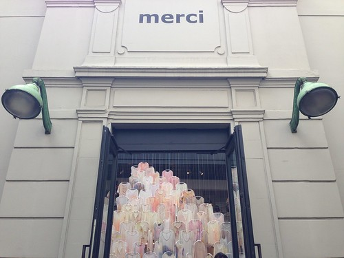 Raquel Allegra chez Merci - Paris, septembre 2014