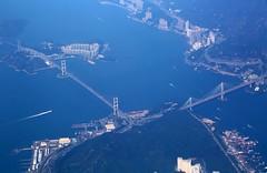 Tsing-Yi Bridge, Hong Kong (Navjot Singh - British Journalist and Photographer) Tags: china hongkong dragonair cathaypacific