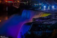 niagara falls at night (Joshua Wells Photography) Tags: usa canada fall night fun lights waterfall amazing pretty roadtrip niagara falls