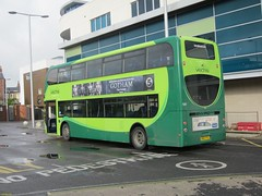 Southern Vectis Alexander Dennis Enviro 400 bodied Alexander Dennis E40D HW63FHJ in Newport 19 October 2014 (IslandYorkie) Tags: buses newport isleofwight doubledecker 1587 backendofabus newportbusstation southernvectis svoc goaheadgroup alexanderdennisenviro400 gosouthcoast busesinthesouthofengland busesontheisleofwight alexanderdennisbuses alexanderdennisbody alexanderdennise40d hw63fhj