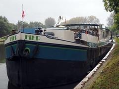 Fiep - docked in Bruges, Belgium (jeffcbowen) Tags:
