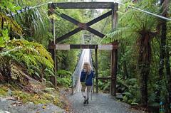 Hokitika Gorge Suspension Bridge (bridgink) Tags: bridge newzealand suspension
