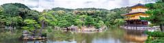 Badly Stitched Kinkaku-ji (campra) Tags: panorama japan temple golden kyoto stitch buddha buddhist pavilion photomerge kinkakuji