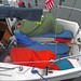 Comfy beds on TNS's sailboat