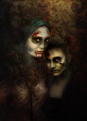 Thelma and Louise (Aperture Yogi) Tags: love death erotic zombie denver zombiecrawl