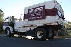 WhiteGMC - Able Body (Scott (tm242)) Tags: white trash dumpster truck garbage side debris rear disposal front bin collection rubbish trucks fl manual waste refuse recycle loader removal recycling load hopper collect gmc packer rl haul asl msl sideloader edco xpeditor