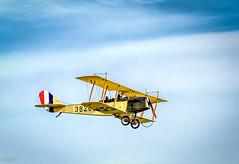 World War I Dawn Patrol Rendezvous (David Clippinger) Tags: airplane war wwi worldwari greatwar reenactment airforcemuseum curtiss curtissjenny daytonohio nationalmuseumoftheusairforce curtissjn4 worldwaridawnpatrolrendezvous